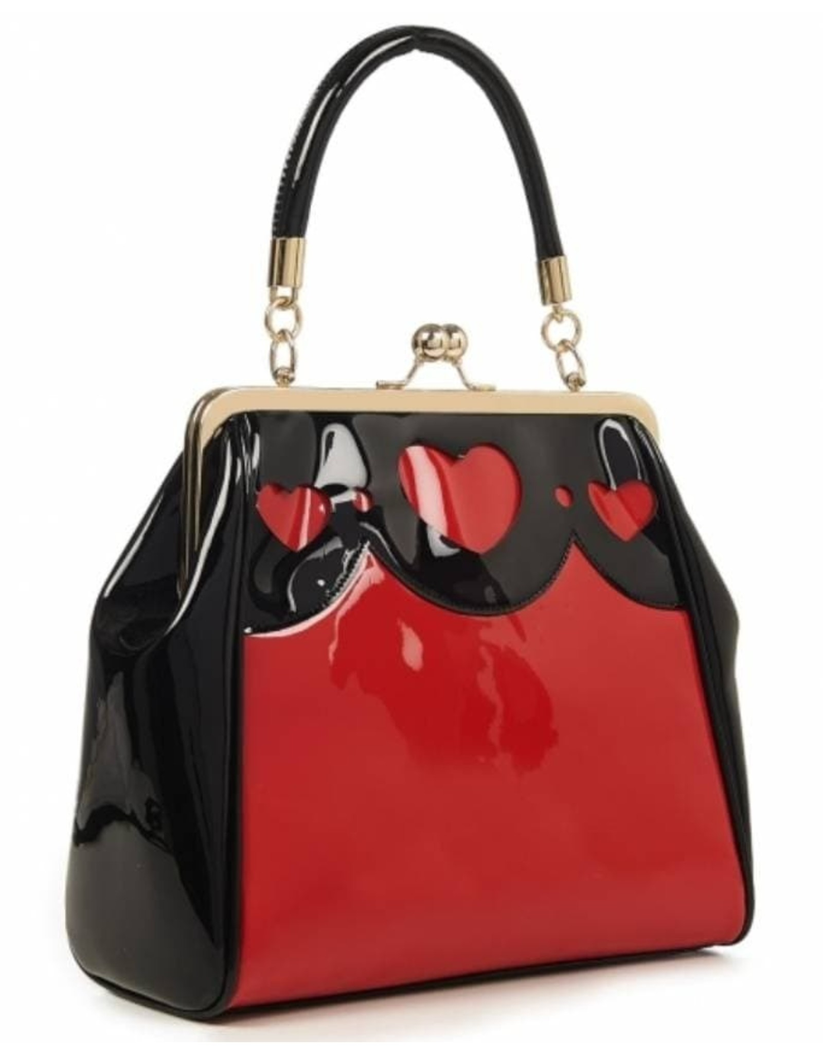 Vintage Retro bags Vintage bags - Banned Heartbraker Retro handbag Red