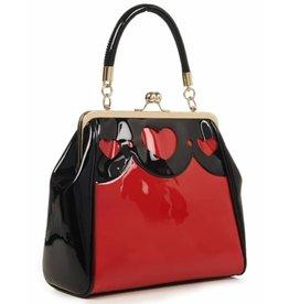 Banned Banned Heartbraker Retro handbag Red