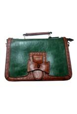 Retro Vintage tassen Retro tassen - Banned  Vintage handtas Scandal (groen)