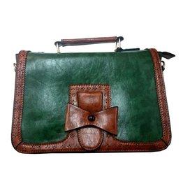 Retro Banned  Vintage handtas Scandal (groen)