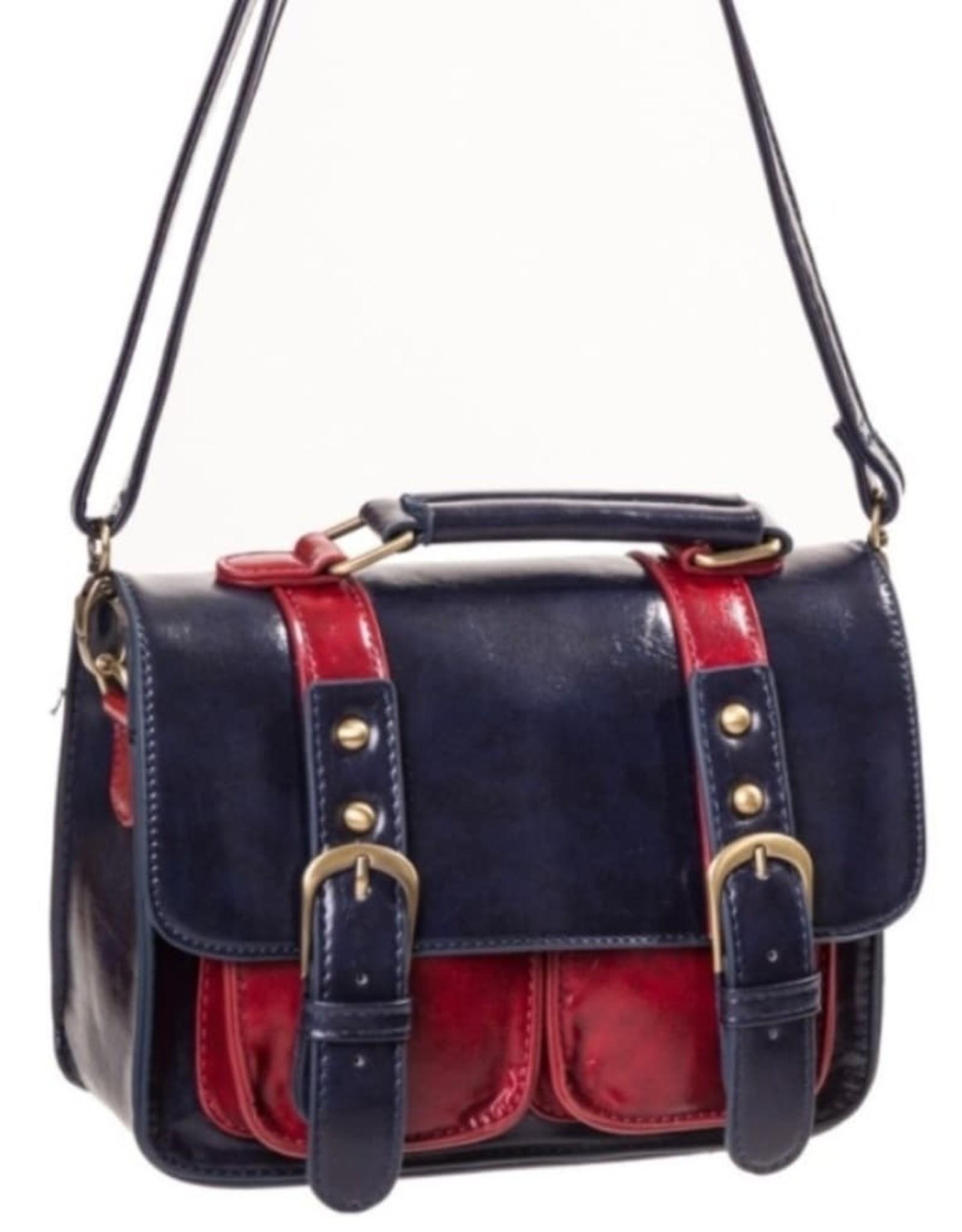 Retro Vintage tassen Retro tassen - Banned Leila vintage schoudertas