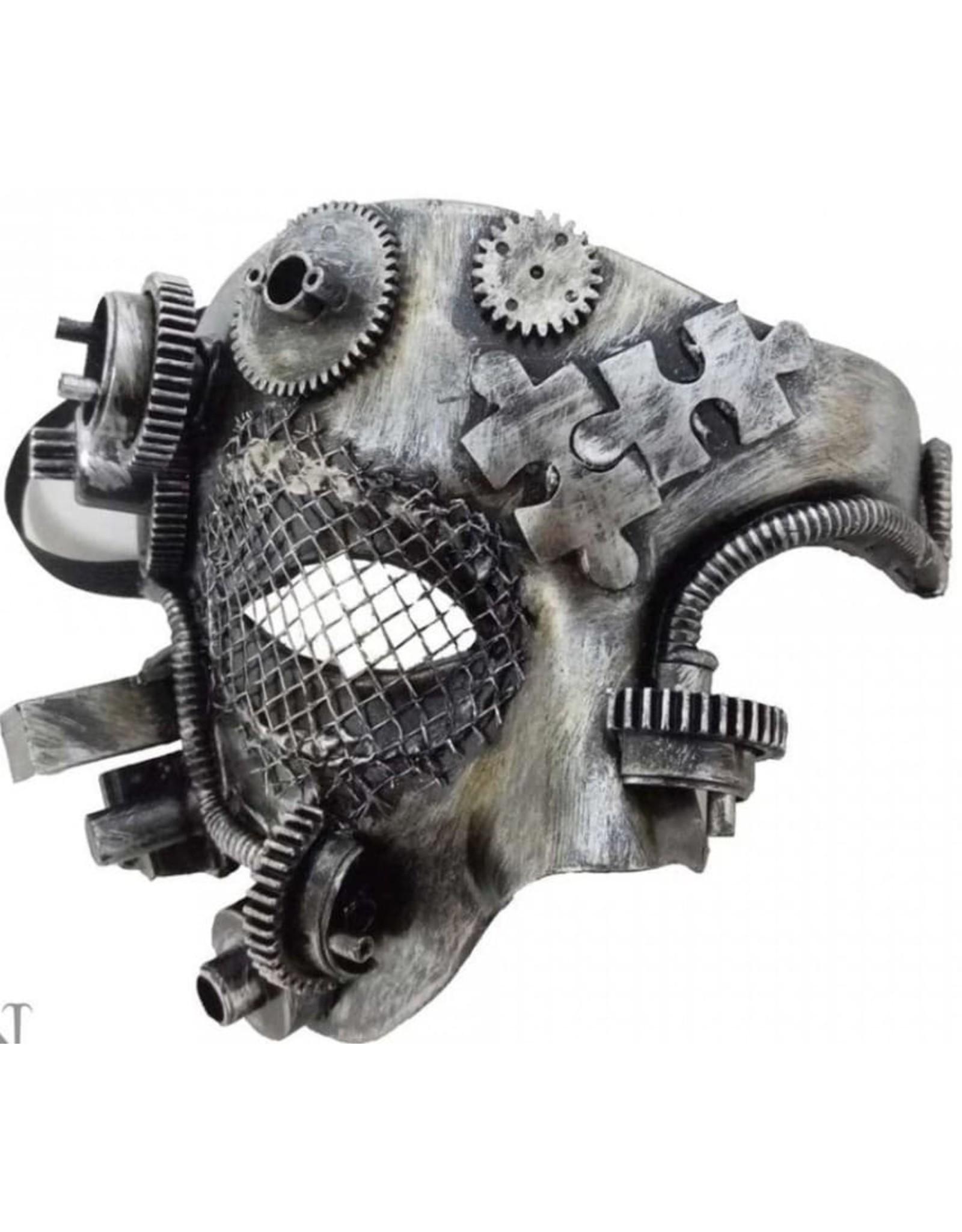 Alator Gothic en Steampunk accessoires - Masker Mechanical Phantom - Nemesis Now