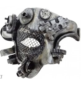 Alator Steampunk Masker Mechanical Phantom