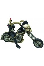 """Alator Collectables - Skelet Biker """"Hell for Leather"""" - Nemesis Now"""