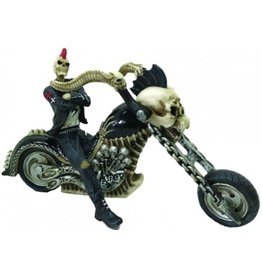 "Alator Skelet Biker ""Hell for Leather"" - Nemesis Now"