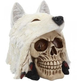Alator Skull Night Wolf - Nemesis Now