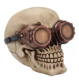Alator Steampunk Skull Visionary - Nemesis Now