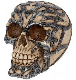 Alator Skull Tribal Iron 15 cm