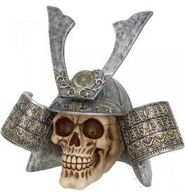 Alator Samurai Skull (large) - Nemesis Now
