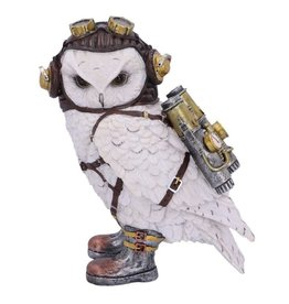 Nemesis Now Steampunk Owl figurine The Aviator 21 cm - Nemesis Now