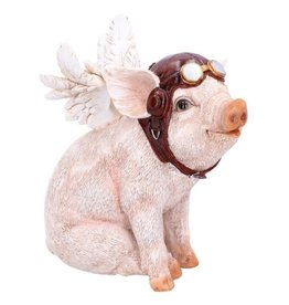 Alator Pig with Wings figurine 15,5 cm - When Pigs Fly, Nemesis Now