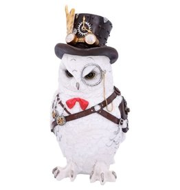 Alator Steampunk Owl Cogsmiths, figurine 23,5 cm  - Nemesis Now