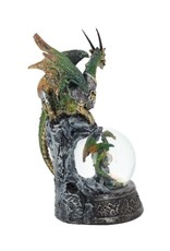 Alator Collectables - Snowglobe the Mother Dragon protecting her baby - Protection Everlasting - Nemesis Now