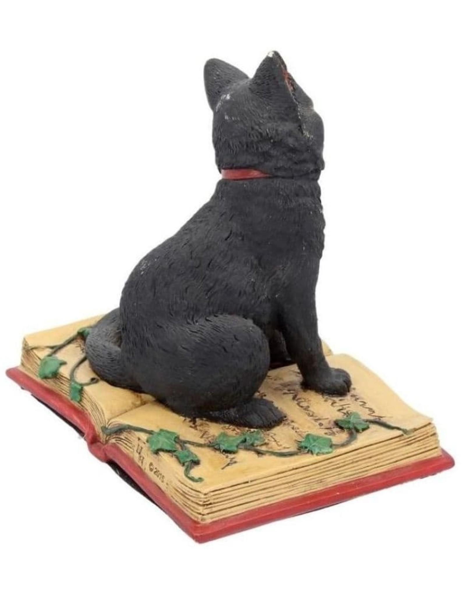 Alator Collectables - Fantasy Figurine Black Cat met open book Eclipse - Lisa Parker