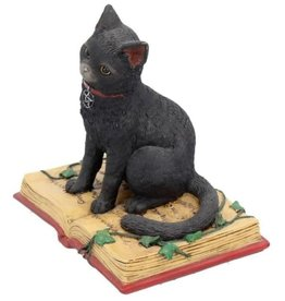 Alator Fantasy Figurine Black Cat met open book Eclipse - Lisa Parker