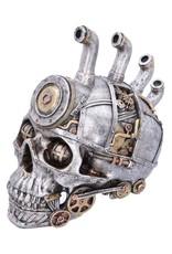 Alator Schedels - Steampunk schedel Pipe Dream 20,5cm - Nemesis Now