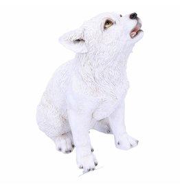 Alator Winters Cry - Wolf Pup beeldje Nemesis Now