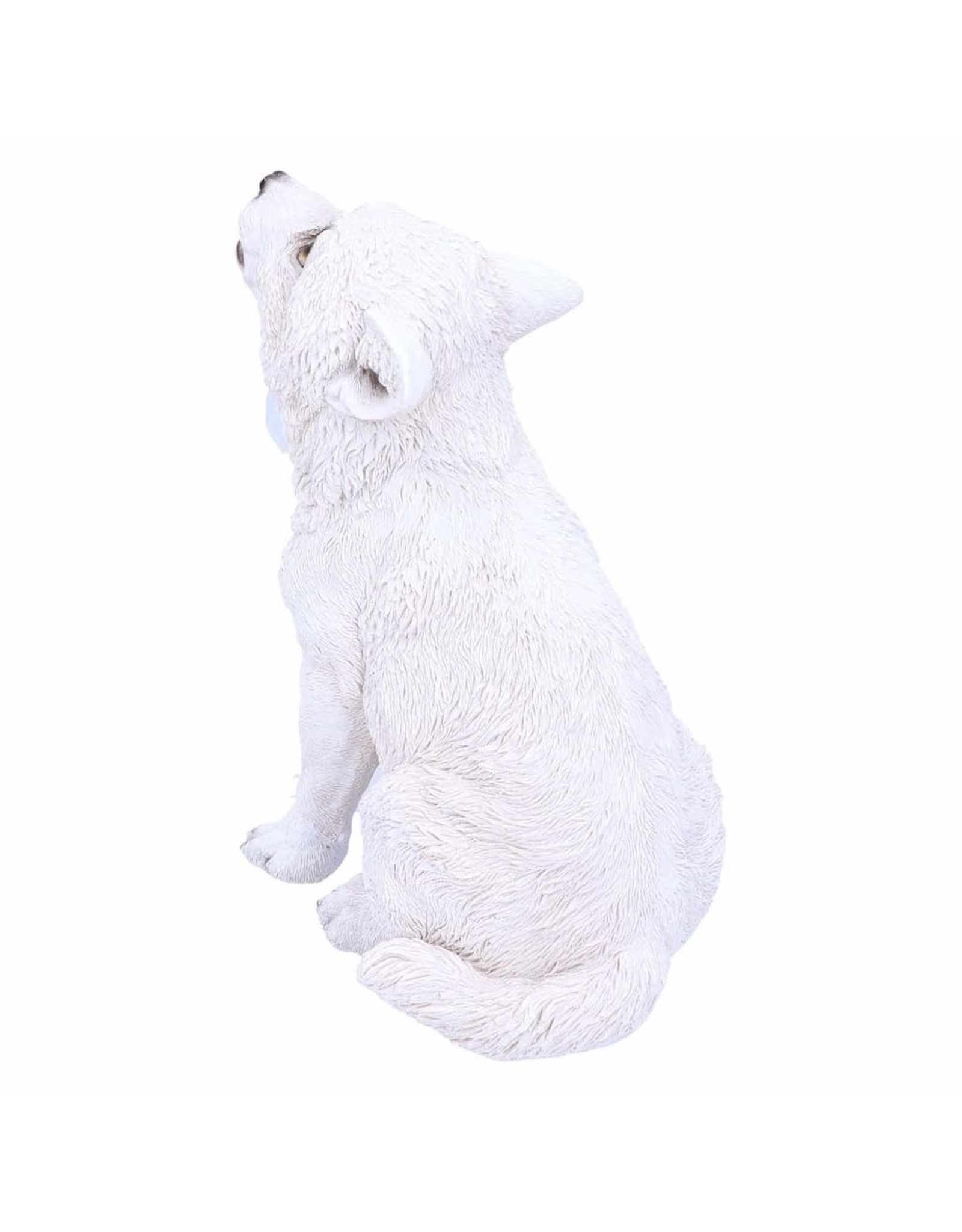 Alator Collectables - Winters Cry - Wolf Pup figurine - Nemesis Now