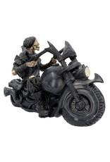 Nemesis Mow Collectables - Skelet op de Motor Screaming Wheels - Nemesis Now