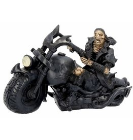 Nemesis Now Skelet op de Motor Screaming Wheels - Nemesis Now