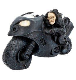 """Nemesis Now Skelet op de Motor  """"Speed Freak""""  - Nemesis Now"""