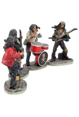 Nemesis Now Collectables - One Hell of a Band - Rockband set van 4 beeldjes Nemesis Now