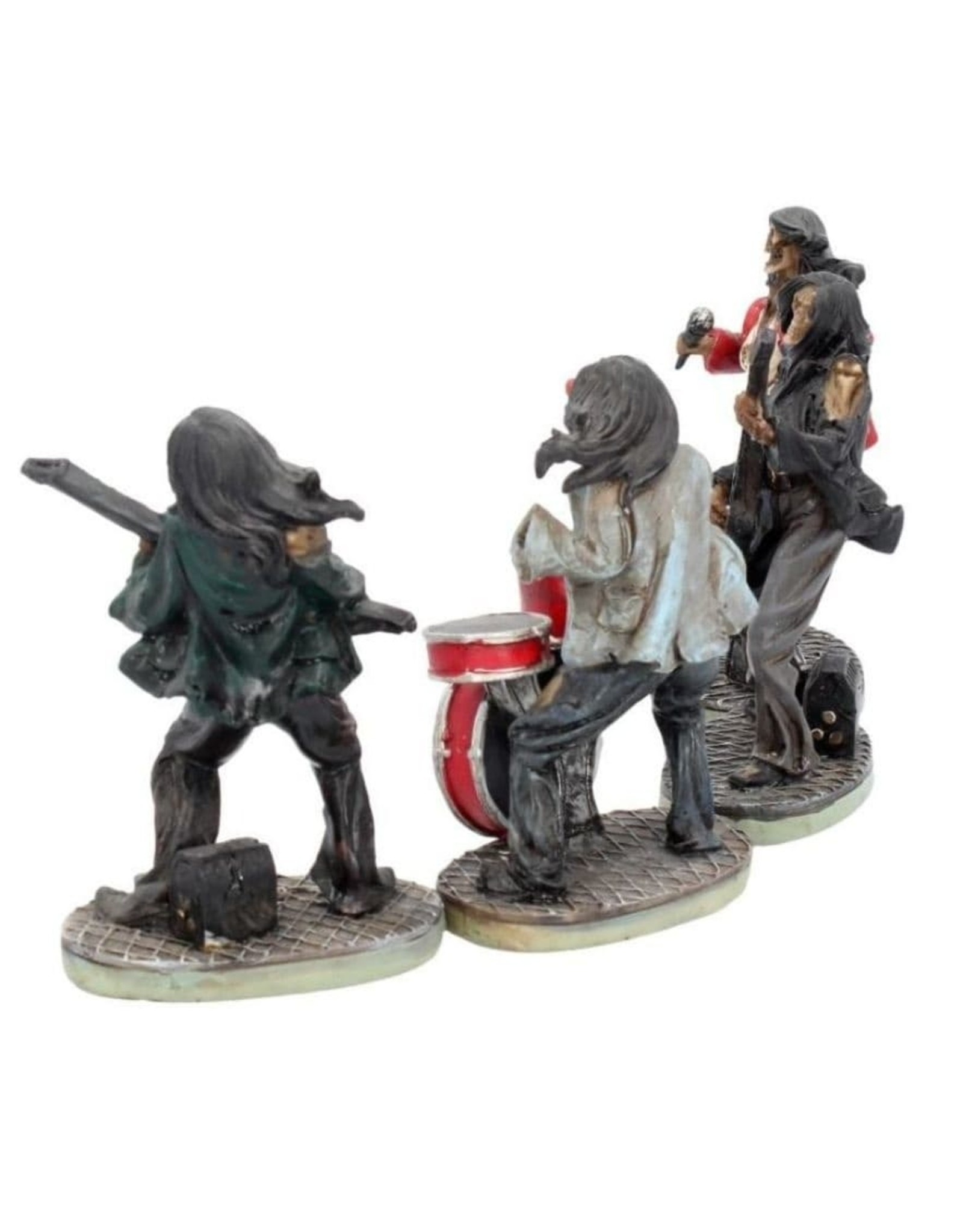 Nemesis Now Collectables - One Hell of a Band - Rock band set of 4 figurines Nemesis Now