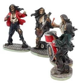 Nemesis Now One Hell of a Band - Rock band set of 4 figurines Nemesis Now