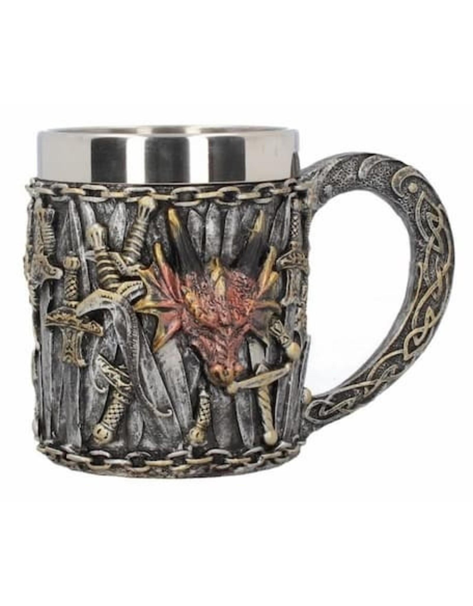Alator Tankards and goblets - Fantasy Tankard Dragon Kingdom - Nemesis Now