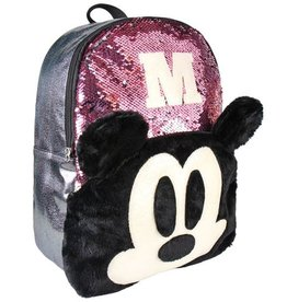 Disney Disney Mickey sequins backpack 40cm (pink)