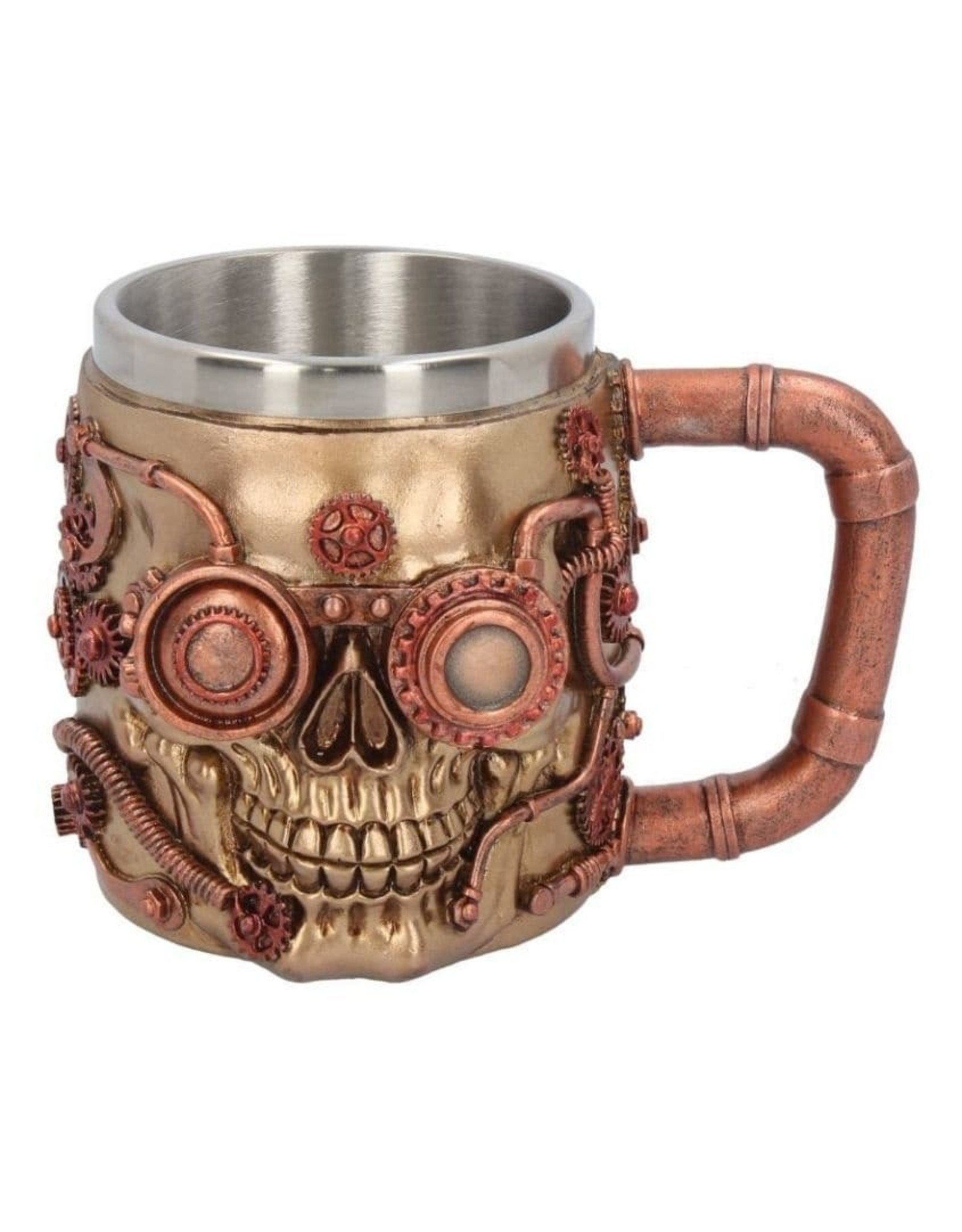 Nemesis Now Bekers en kelken - Steampunk Drinkbeker Steaming Skull Nemesis Now