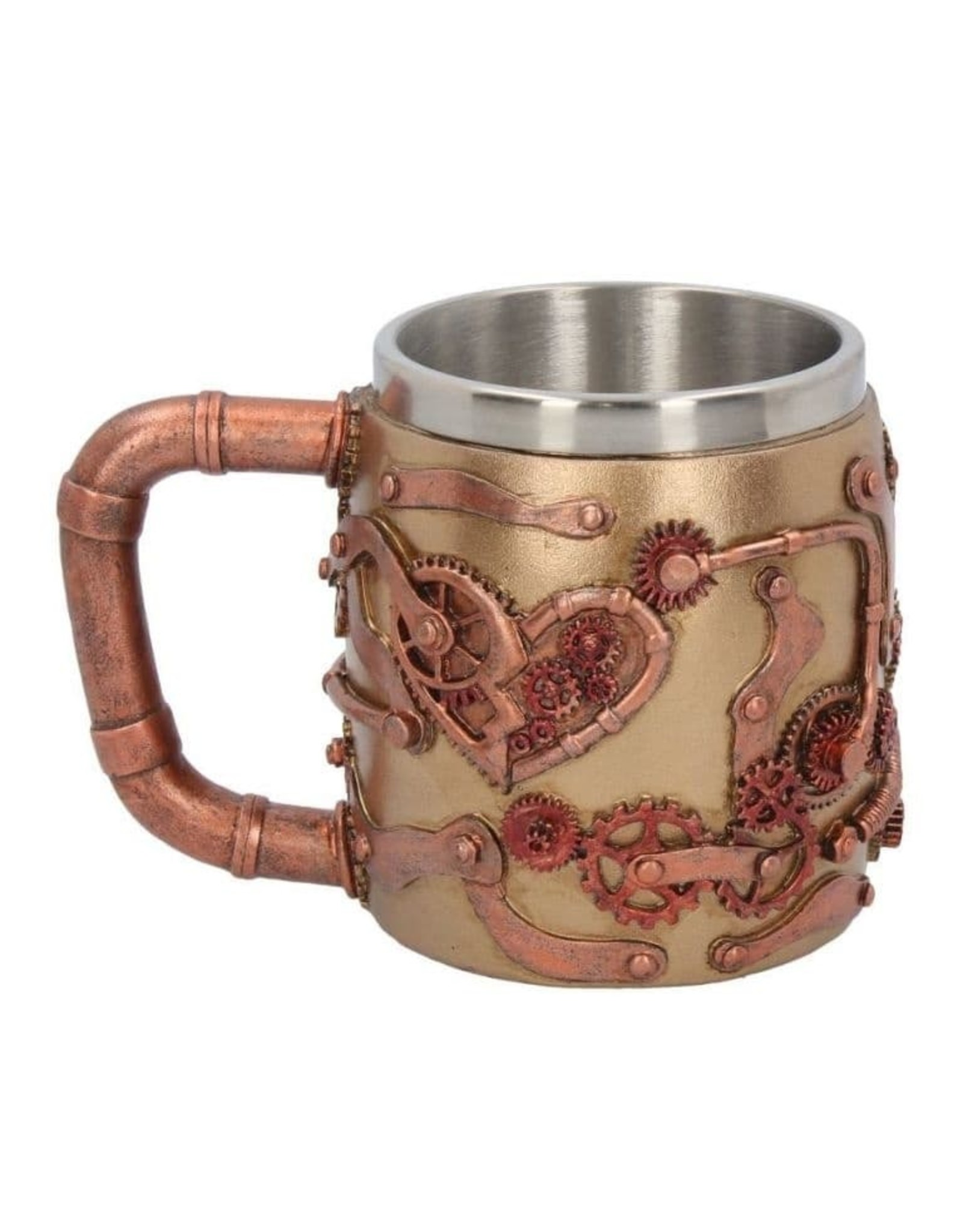 Nemesis Now Steaming Skull Steampunk Tankard Mug Cup New Gift Boxed