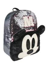 Disney Disney tassen - Disney Mickey rugzak met pailletten  40cm (roze)