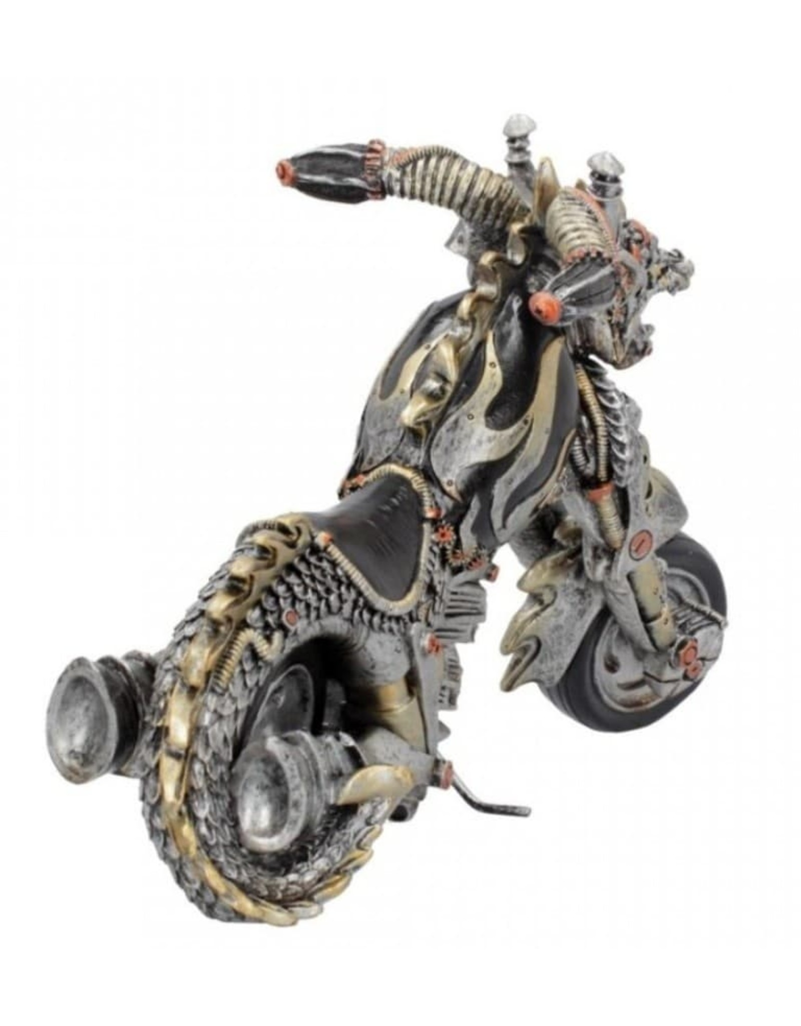 Alator Collectables - Dracus Birota Gothic Motorcycle figurine - Nemesis Now