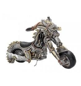 Alator Dracus Birota Gothic Motorcycle figurine - Nemesis Now