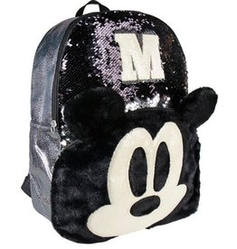 Cerda Disney Mickey sequins backpack 40cm (black)