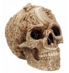 Alator Schedel met gegraveerde Draak Cranial Drakos - Nemesis Now