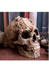 Alator Schedels - Schedel met gegraveerde Draak Cranial Drakos - Nemesis Now