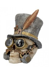 Alator Schedels - Steampunk Schedel Count Archibald - Nemesis Now