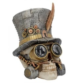 Alator Steampunk Schedel Count Archibald - Nemesis Now