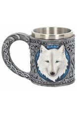 Nemesis Now Bekers en kelken -  Fantasy Drinkbeker Ghost Wolf - Nemesis Now
