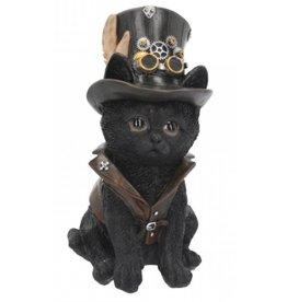 Steampunk Kitten Cogsmiths - Nemesis Now