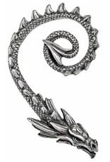 Alchemy Gothic en Steampunk accessoires - Oorsieraad Draak Ostrogoth Dragon - Alchemy