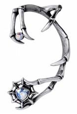 Alchemy Gothic and Steampunk accessories - Earwrap Demon (with Swarovski) - Alchemy