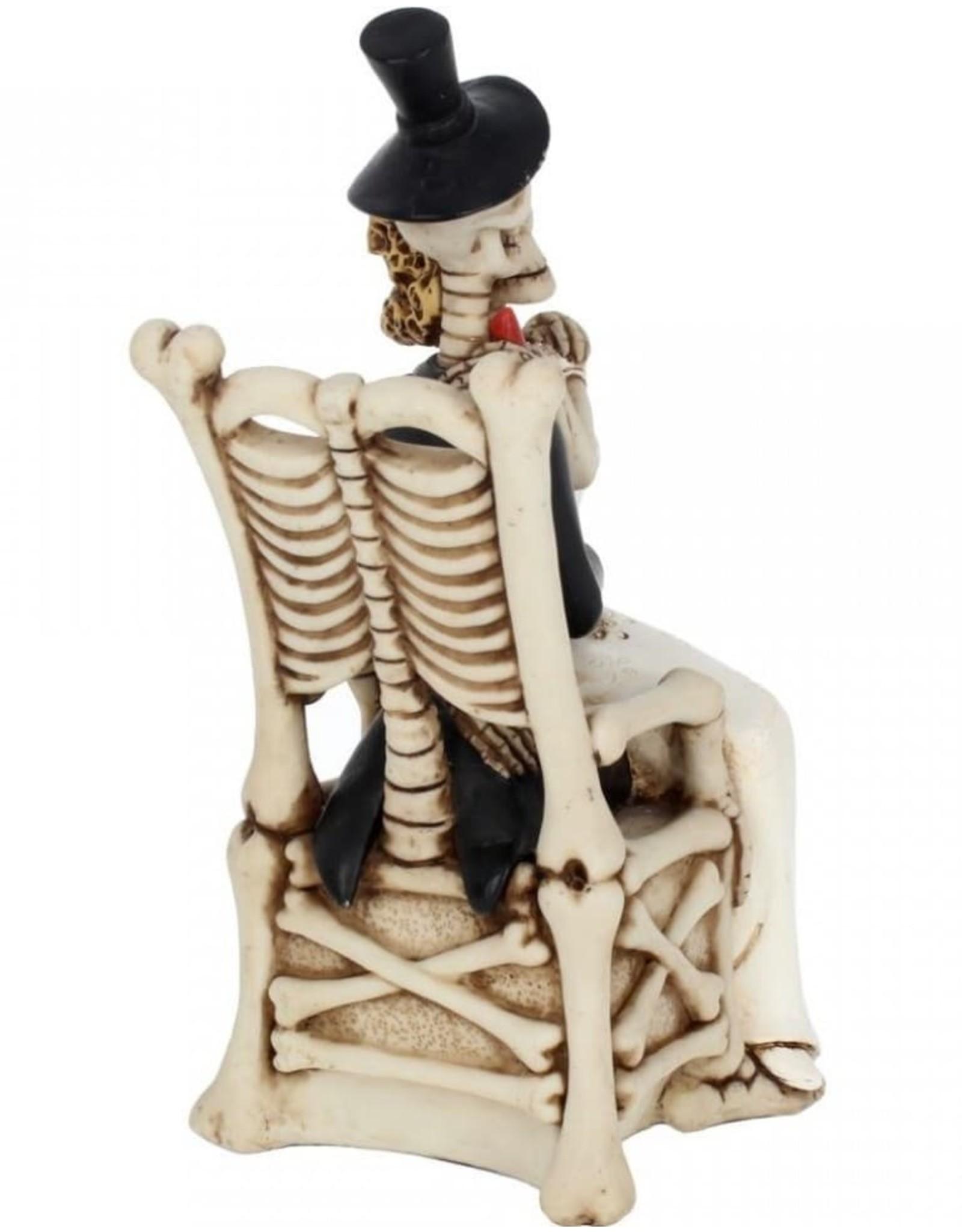 Alator Collectables - Skeletten Bruidspaar For Better, For Worse - Nemesis Now