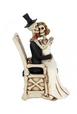 Alator Collectables - Skeletons Wedding Couple For Better, For Worse - Nemesis Now