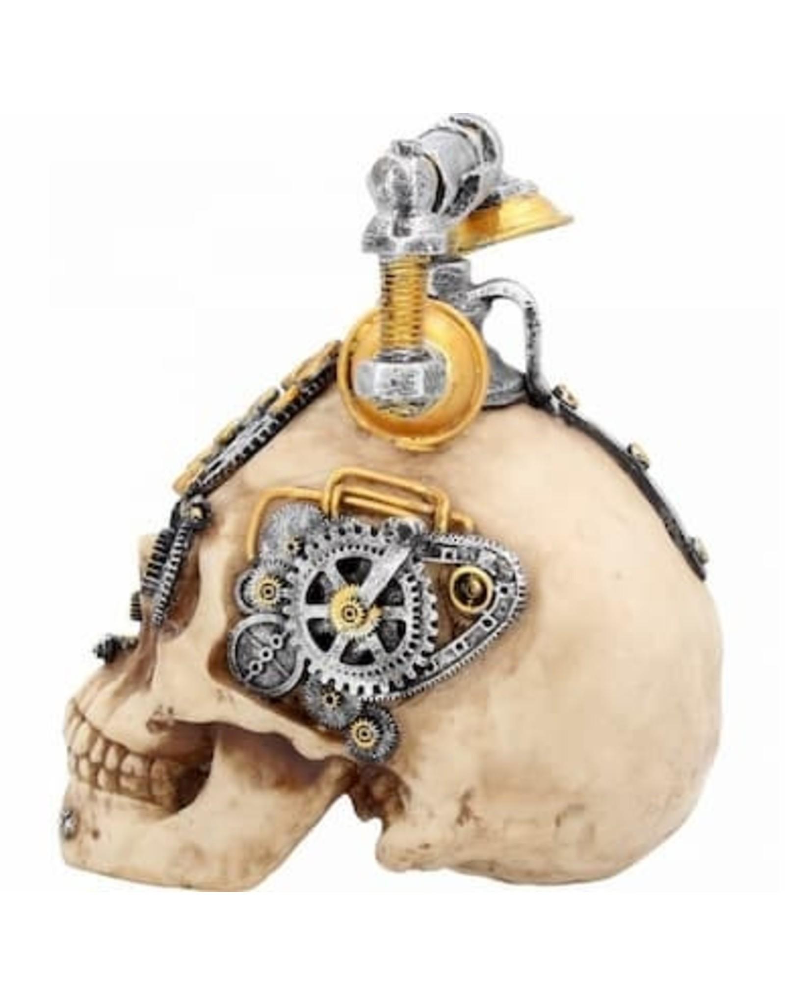 Alator Schedels - Schedel Steampunk Dead Ringer Nemesis Now