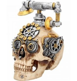 Alator Schedel Steampunk Dead Ringer Nemesis Now