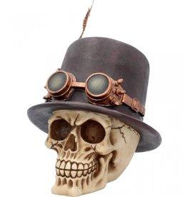 Nemesis Steampunk schedel De Aristocraat Nemesis Now