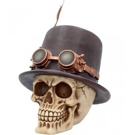 Nemesis Steampunk skull The Aristocrat Nemesis Now